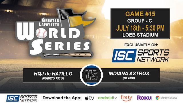 2019 GLWS G15 Puerto Rico vs Indiana Astros Black