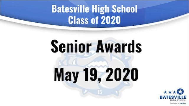 Batesville Senior Awards