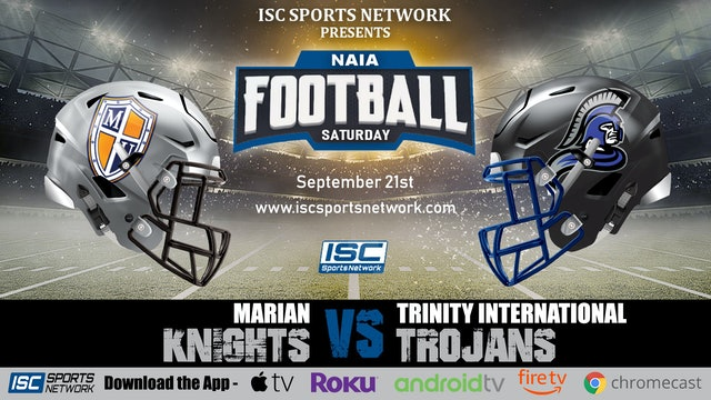 2019 CFB Marian at Trinity International