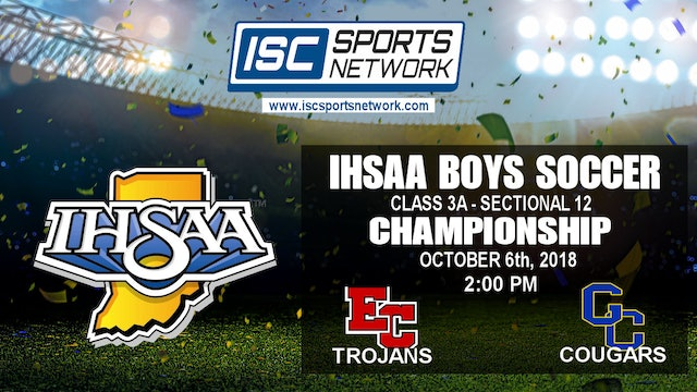 2018 IHSAA BS East Central vs Greenfield-Central 10/6