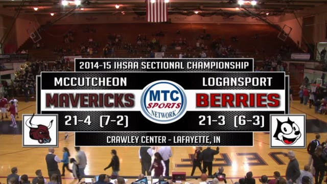 2015 IHSAA McCutcheon vs Logansport