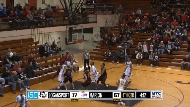 2015 BBB Logansport vs Marion behind back pass