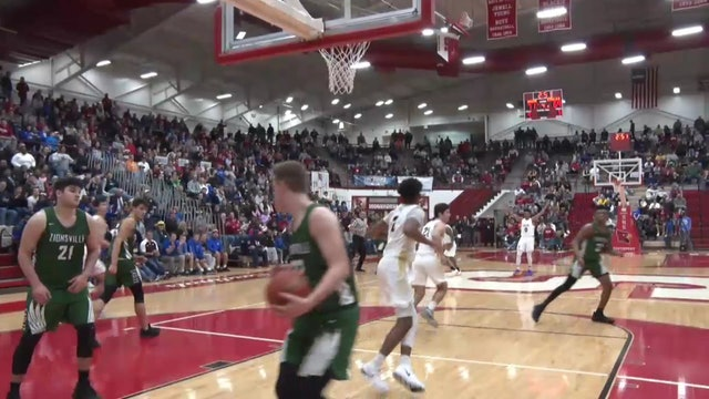 2018 FTC BBB Cathedral vs Zionsville Franklin dunk