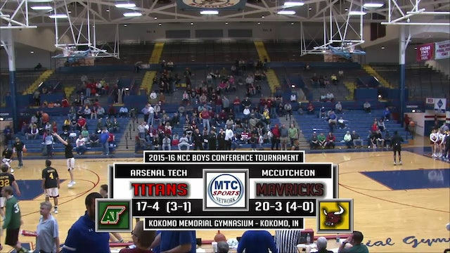 2016 BBB NCC Indianapolis Tech vs McCutcheon