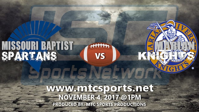 2017 CFB Missouri Baptist at Marian