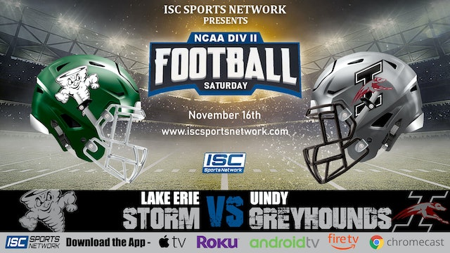 2019 CFB Lake Erie at UINDY