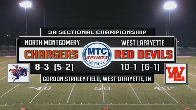2015 IHSAA FB North Montgomery at Wes...