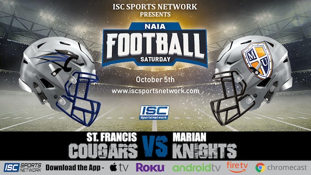 2019 CFB St Francis at Marian