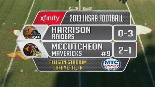 2013 FB Harrison at McCutcheon