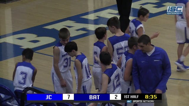 7th grade Batesville vs Jennings Coun...