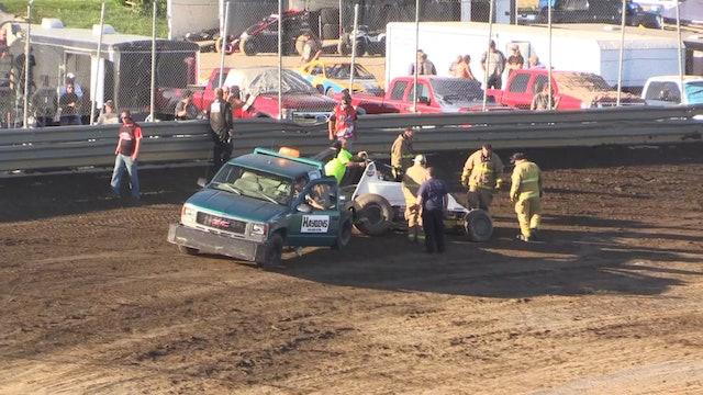 2018 B.O.S.S. Series Racing: Waynesfield Speedway 7/7/18