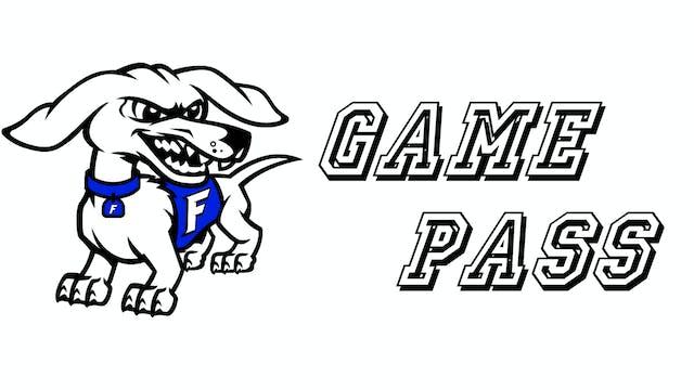 Frankfort High School 2020-21 Game Pass
