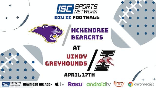 2021 CFB UIndy vs. McKendree 4/17