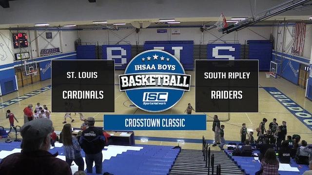 7th grade St Louis vs South Ripley crosstown classic