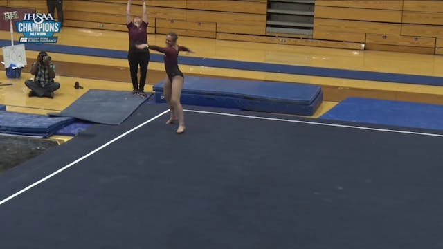 2019 IHSAA Gymnastics Bush floor