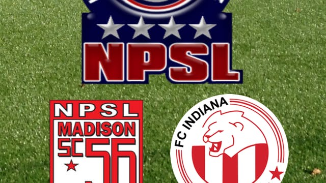 2015 NPSL Madison 56ers at FC Indiana