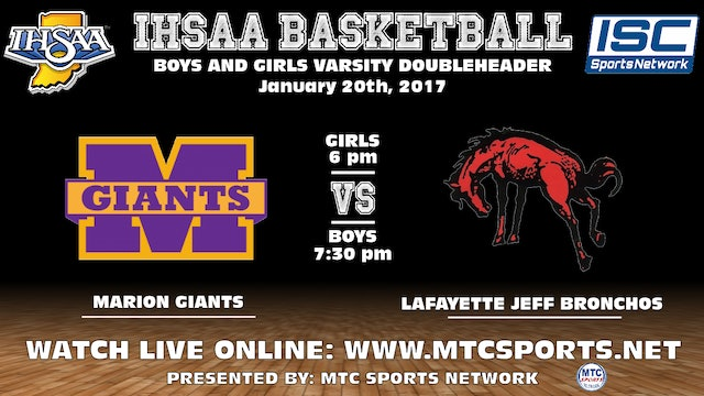 2017 GBB Marion at Lafayette Jeff