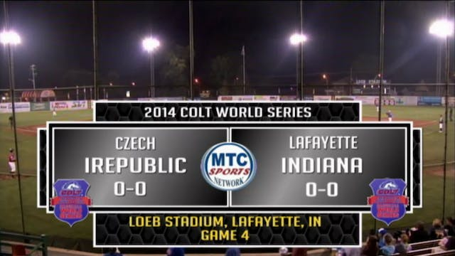 2014 Game 4 Czech Republic vs. Lafaye...