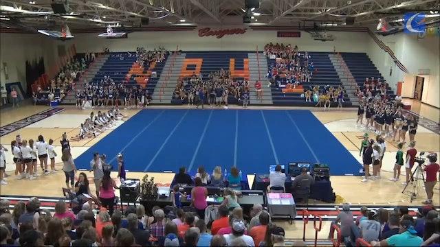 2017 Putnam County Fair Cheerleading