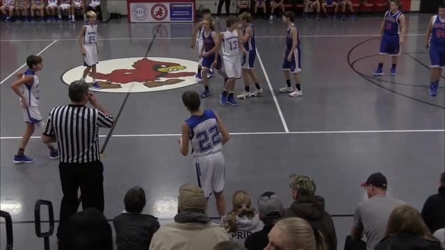 8th grade Jennings County vs Batesville Crosstown Classic
