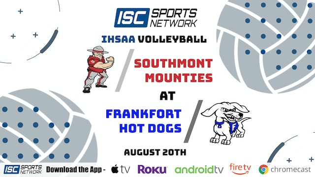 2020 VB Southmont at Frankfort (HDTV)