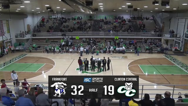 2019 BBB Frankfort at Clinton Central...