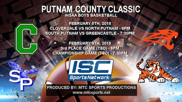 2018 PCT BBB Cloverdale vs North Putnam