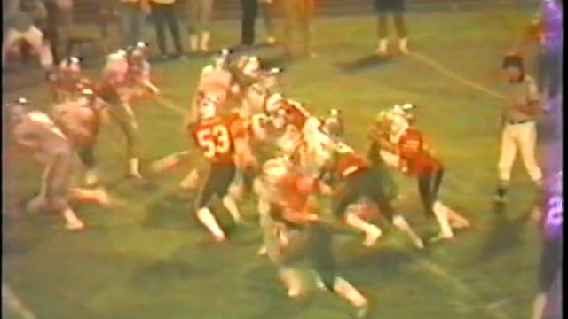 1985 FB Hamilton Southeastern at Clinton Prairie