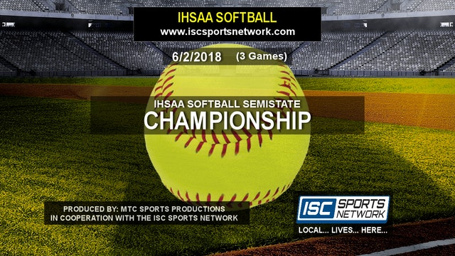 2018 IHSAA SB Noblesville vs Leo