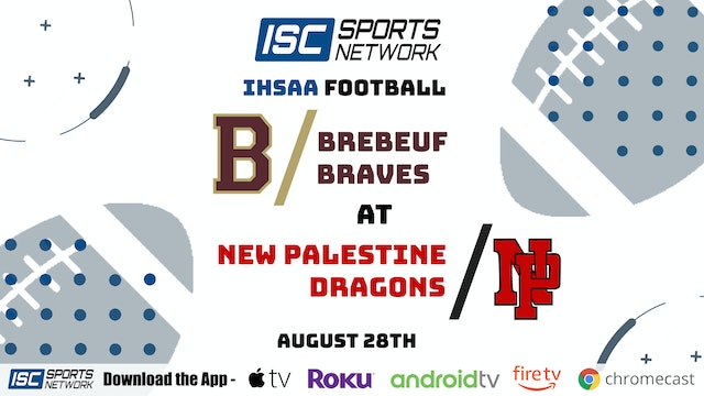 2020 FB Brebeuf at New Palestine