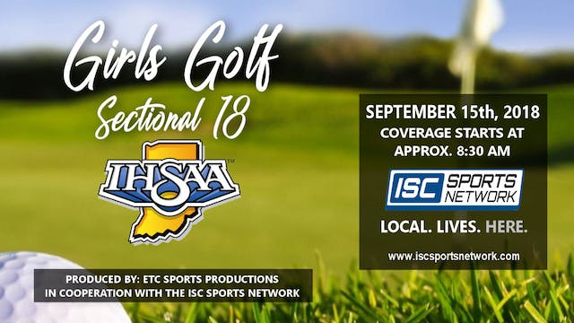2018 IHSAA Girls' Golf Sectional 18