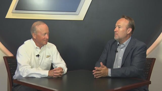 Scott Long with Mitch Daniels