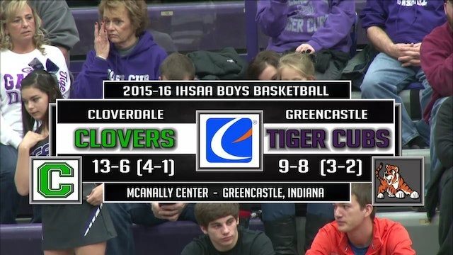2016 BBB PCT Cloverdale vs Greencastle
