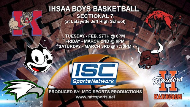 2018 IHSAA BBB Zionsville vs Logansport