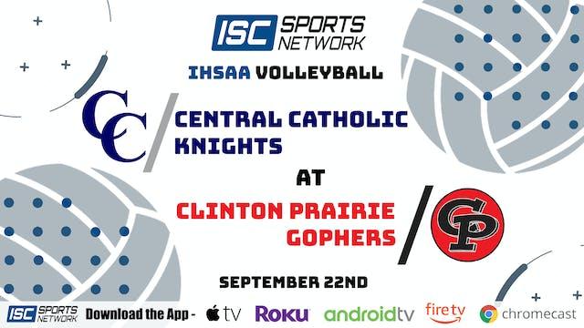 2020VB Central Catholic at Clinton Prairie 9/22/20