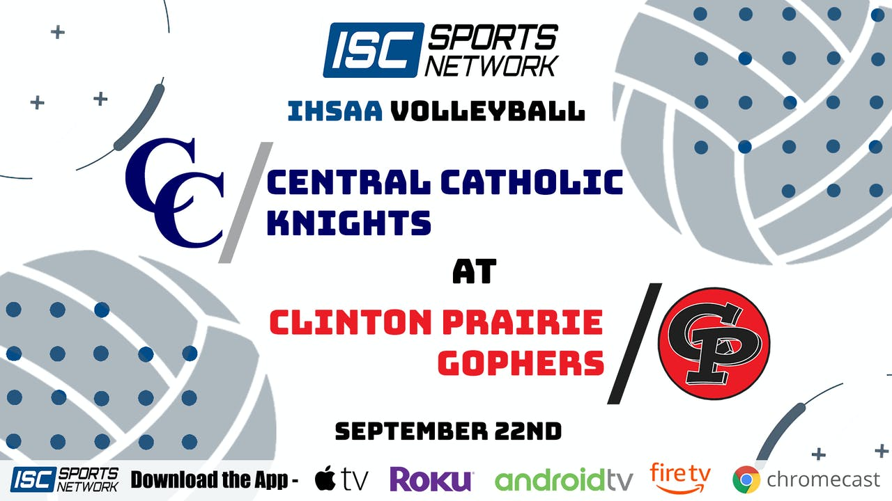 2020VB Central Catholic at Clinton Prairie 9/22/20