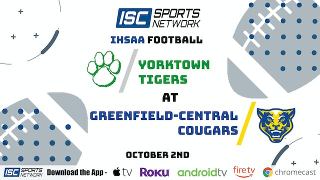 2020 FB Yorktown at Greenfield Central