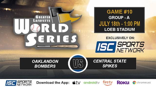2019 GLWS G10 Oaklandon vs Central State