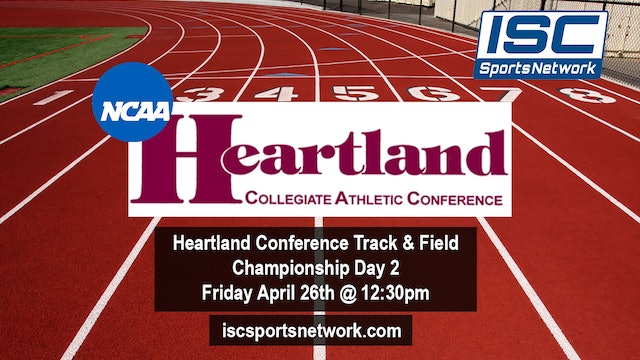Heartland Conference Track & Field Day 2