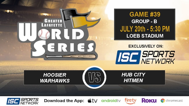 2019 GLWS G39 Hoosier Warhawks vs Hub City Hitmen