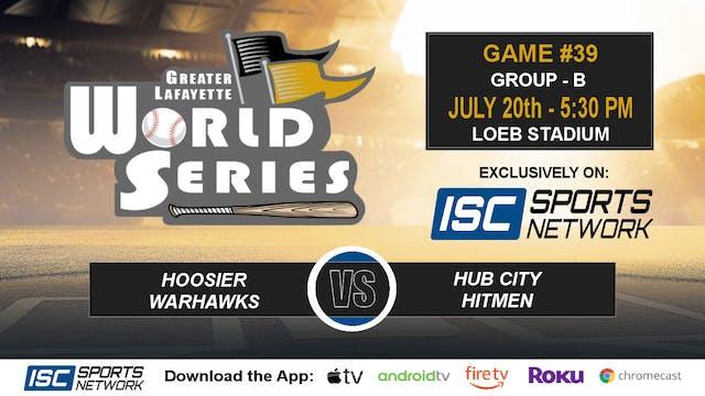 2019 GLWS G39 Hoosier Warhawks vs Hub...