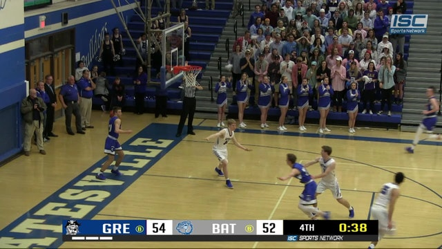 2019 BBB Greensburg at Batesville Welage dunk
