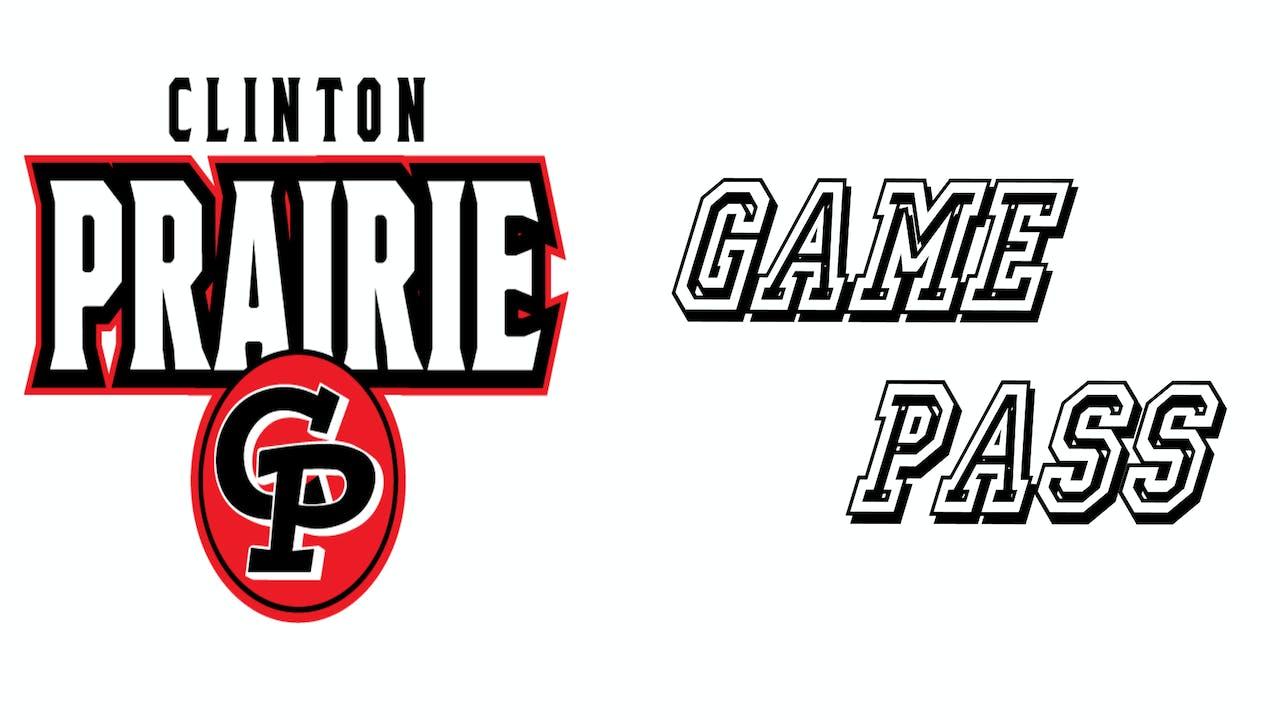 Clinton Prairie High School 2020-21 Game Pass