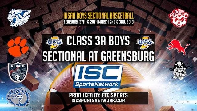 2018 IHSAA BBB South Dearborn vs Lawrenceburg