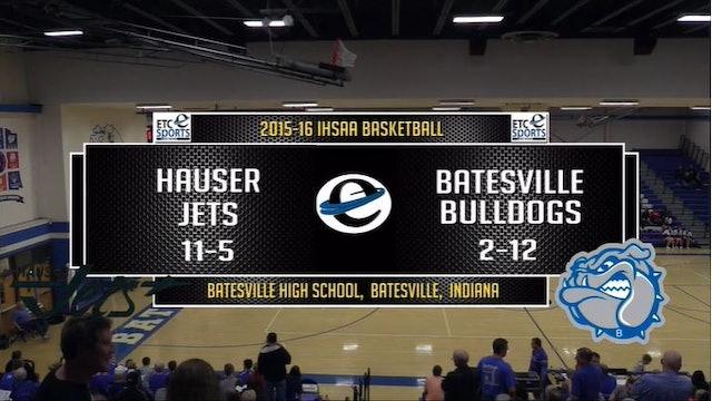 2016 BBB Hauser at Batesville 1/30