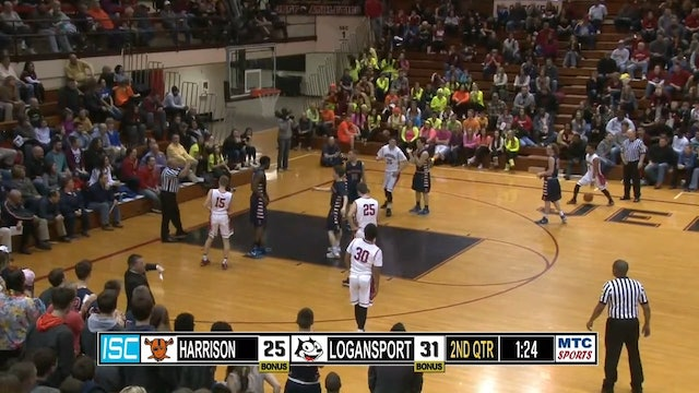 2015 Sectionals Harrison vs Logansport Munoz shot