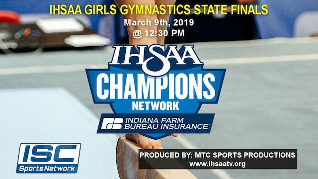 2019 IHSAA Gymnastics State Finals