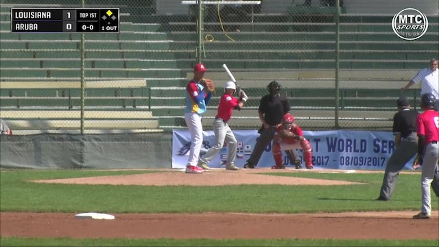 2017 Game 5 Louisiana vs Aruba