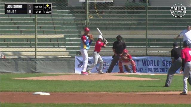 2017 Game 5 Louisiana vs Aruba