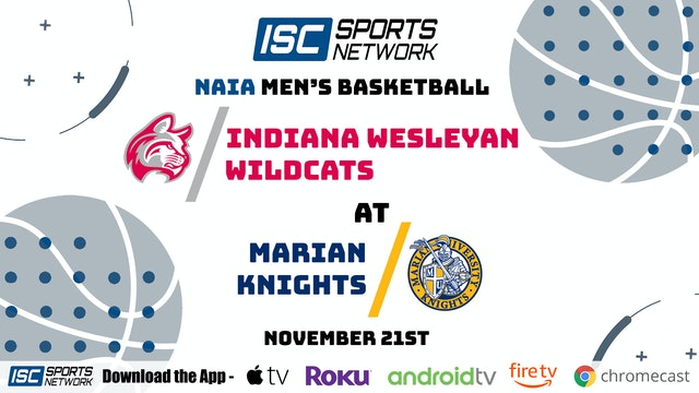 2020 MBB Indiana Wesleyan at Marian